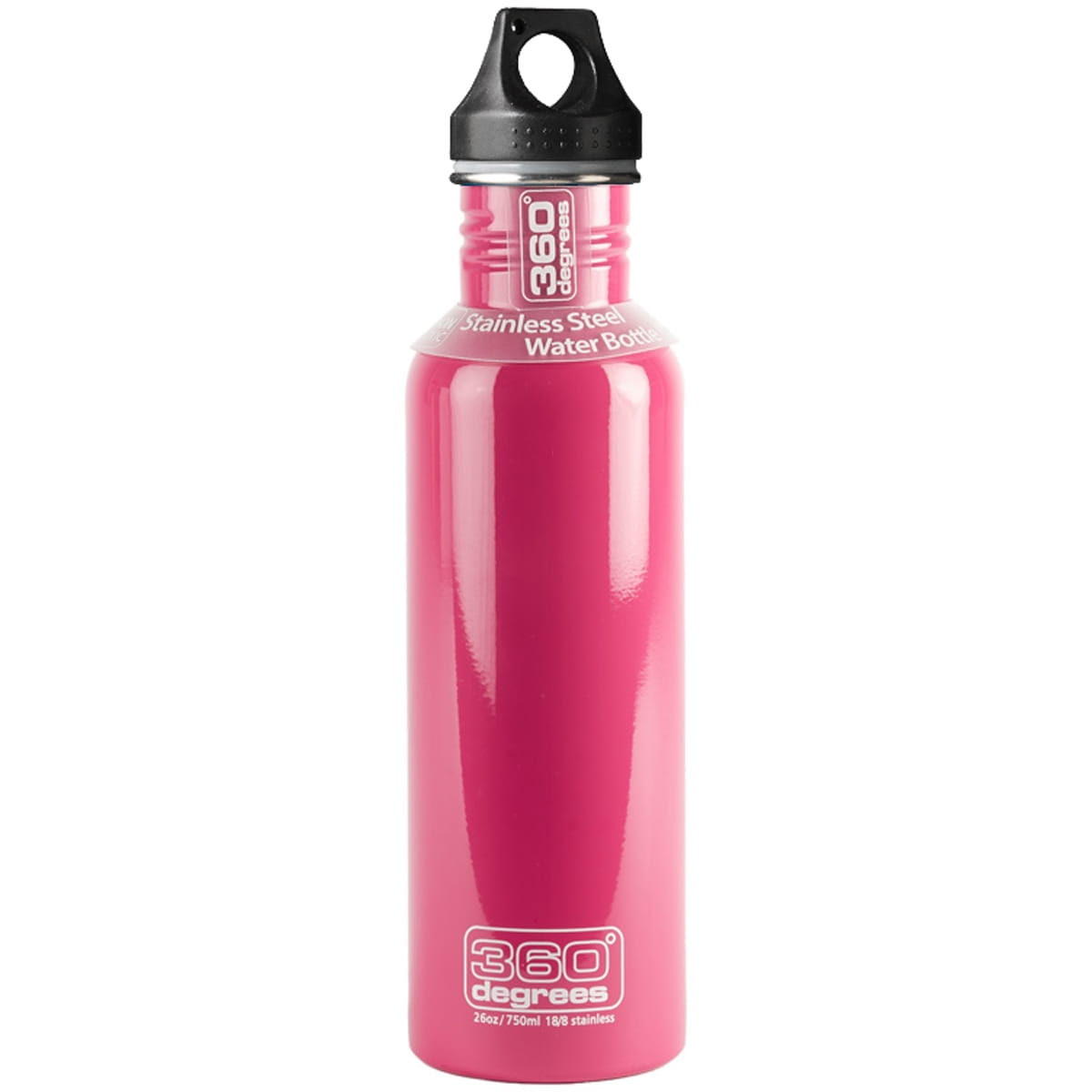 360° degrees Stainless Drink Bottle - 750 ml - Trinkflasche pink