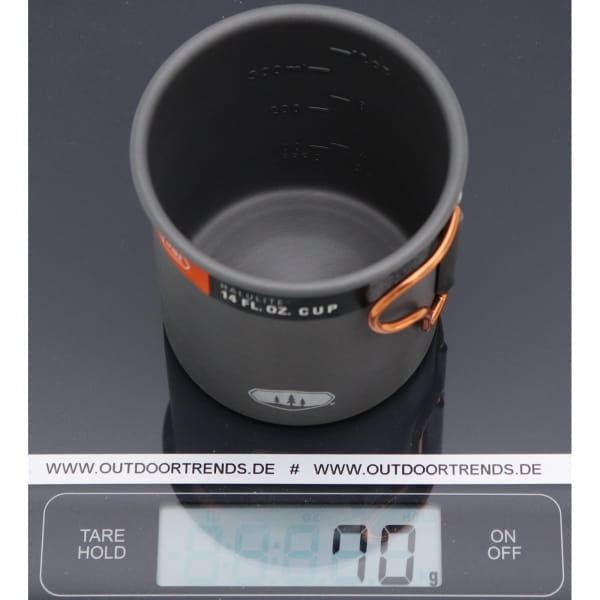 GSI Halulite 14 fl. oz Cup - Aluminium Becher grey - Bild 1