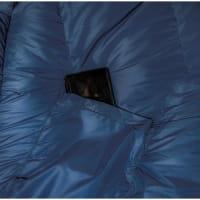 Vorschau: Grüezi Bag Biopod DownWool Ice - Daunen- & Wollschlafsack night blue - Bild 8