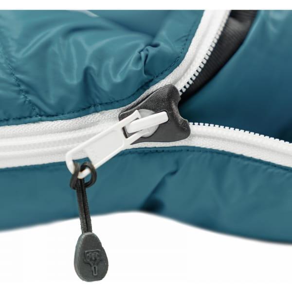 Grüezi Bag Biopod DownWool Subzero Comfort - Daunen- & Wollschlafsack autumn blue - Bild 10