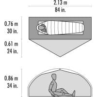 Vorschau: MSR Carbon Reflex 1 - 1 Personen Zelt - Bild 4