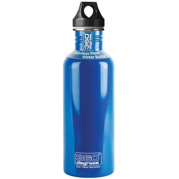 360° degrees Stainless Drink Bottle - 1000 ml - Trinkflasche ocean blue - Bild 3