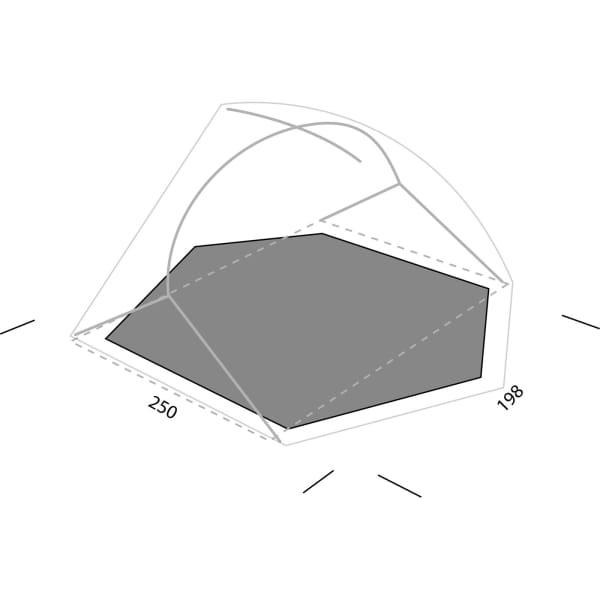 EXPED Lyra III Footprint - Zeltunterlage - Bild 1