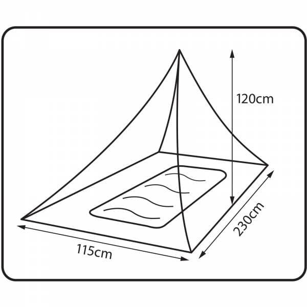 360 degrees Insect Net Single - Moskito-Netz - Bild 2