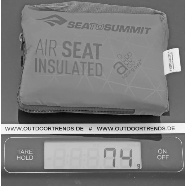 Sea to Summit Air Seat Insulated - Sitzkissen green - Bild 4