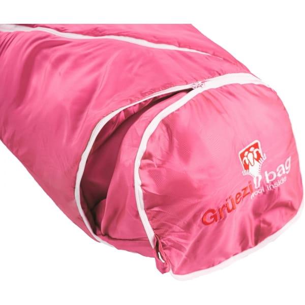 Grüezi Bag Biopod Wolle Kids World Traveller - Wollschlafsack claret red - Bild 22
