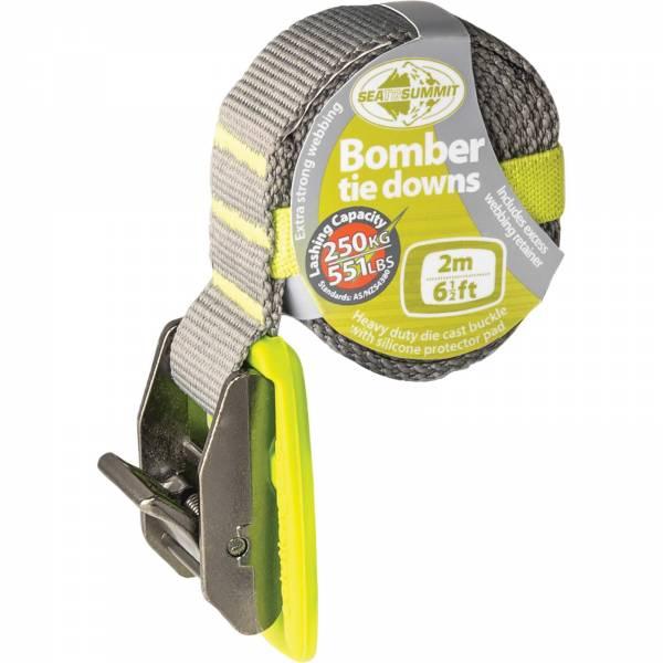 Sea to Summit Bomber Tie Down Strap - 2 m lime - Spanngurt - Bild 1
