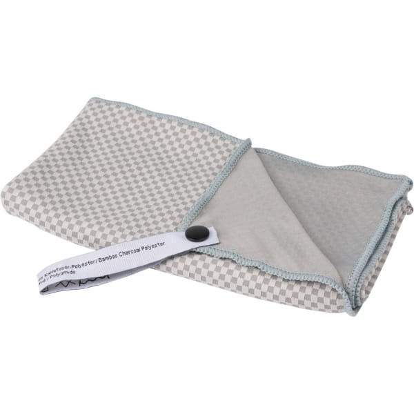 Tatonka Travel Towel Bamboo S - Funktionshandtuch grey - Bild 1