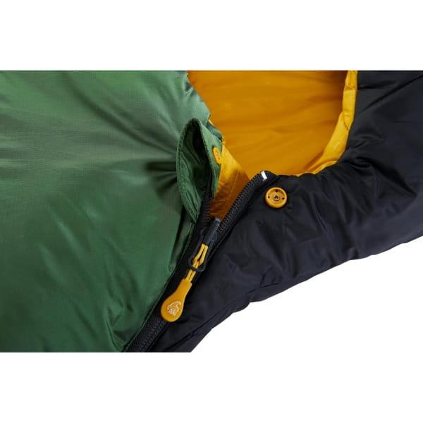 Nordisk Gormsson -2° Curve - 3-Jahreszeiten-Schlafsack artichoke green-mustard yellow-black - Bild 7