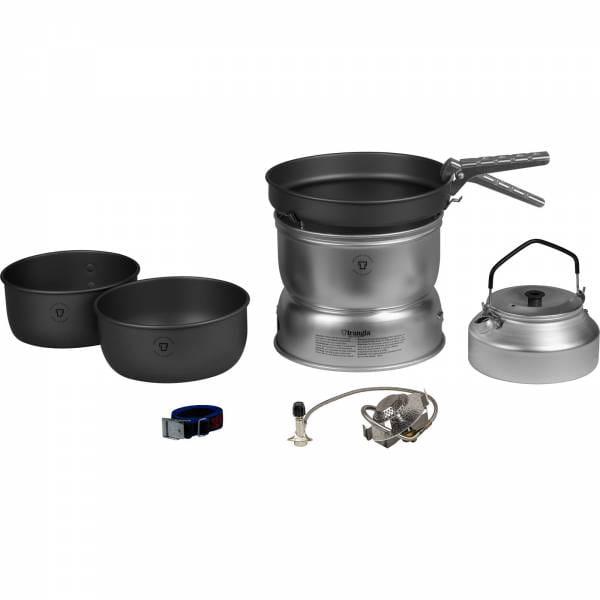 Trangia Sturmkocher Set groß - 25-8 UL-HA - Gas - mit Wasserkessel - Bild 1