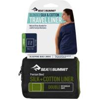 Sea to Summit Silk Cotton Travel Liner Double