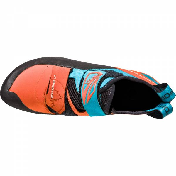 La Sportiva Katana - Kletterschuhe tangerine-tropic blue - Bild 6