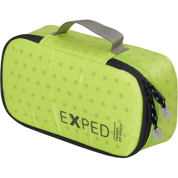 EXPED Padded Zip Pouch S - gepolsterte Tasche lime - Bild 1