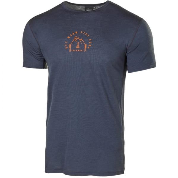 IVANHOE UW Agaton Outdoor Man T-Shirt - Funktionsshirt steelblue - Bild 3