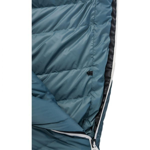 Grüezi Bag Biopod Down Hybrid Ice Cold - Daunen- & Wollschlafsack platin grey - Bild 16
