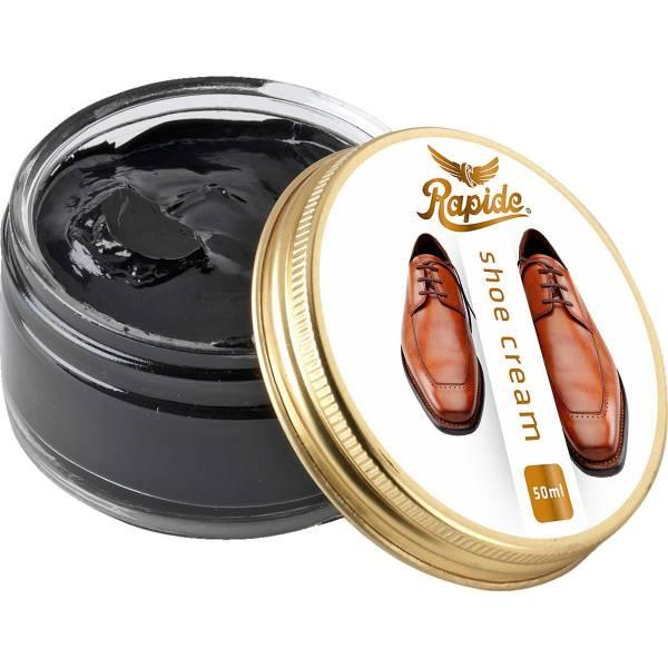 Rapide Schuhcreme für Glattleder - 50 ml schwarz - Bild 1