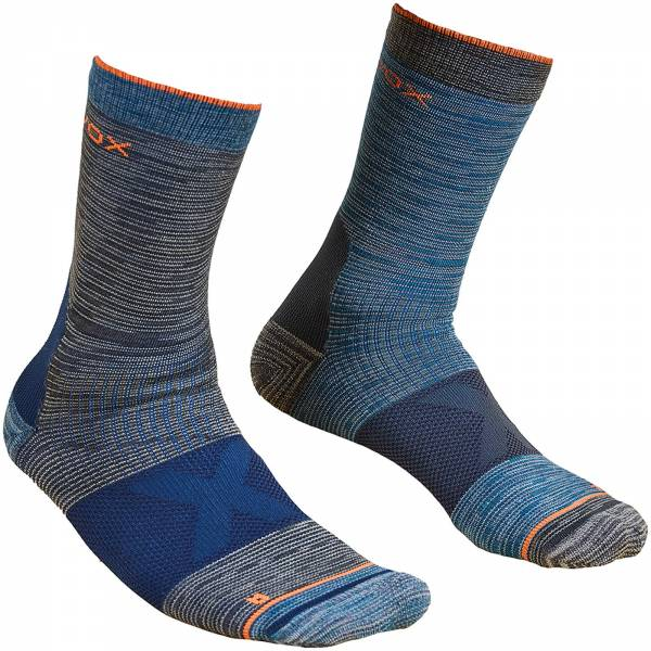 Ortovox Alpinist Mid Socks Men - Socken dark grey - Bild 1