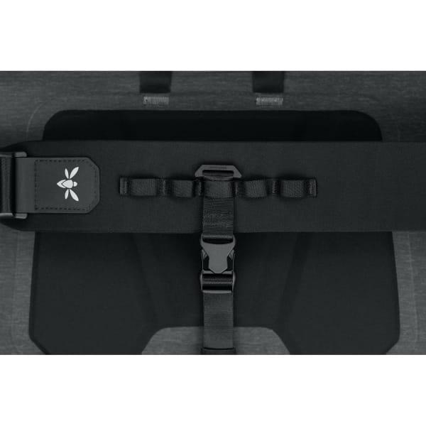 Apidura City Messenger S - 11 Zoll Kuriertasche dark grey melange-black - Bild 11