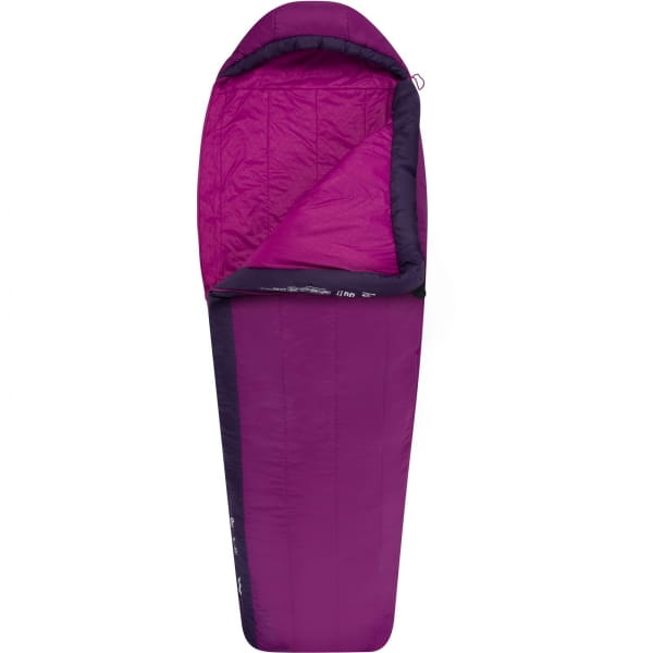Sea to Summit Quest™ QuI Women's Regular - Schlafsack grape-blackberry - Bild 5