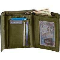 Vorschau: Eagle Creek RFID International Tri-Fold Wallet - Geldbörse jet black - Bild 6