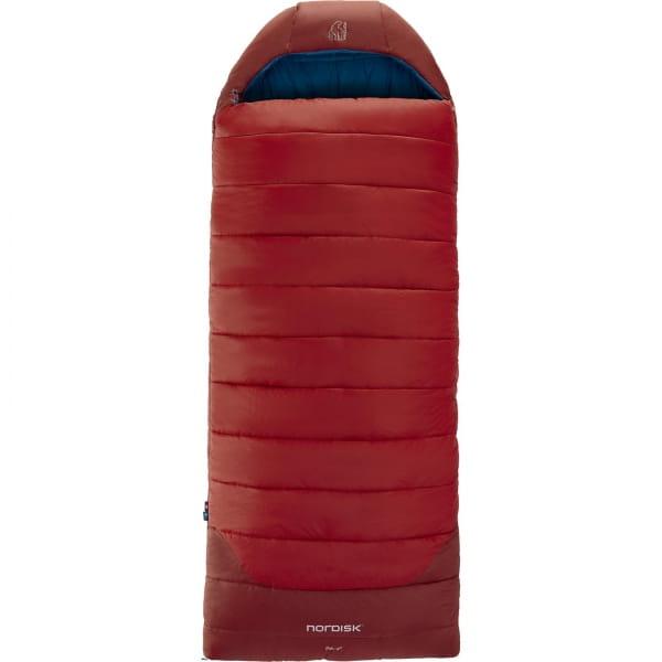 Nordisk Puk -2° Blanket - Decken-Schlafsack sun dried tomato-majolica blue-syrah - Bild 1