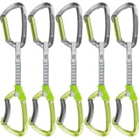 Climbing Technology Lime Set DY 12 cm Eloxiert 5er Pack - Express-Sets