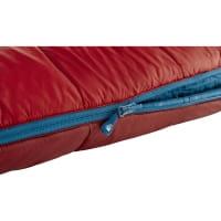 Vorschau: Nordisk Puk -2° Blanket - Decken-Schlafsack sun dried tomato-majolica blue-syrah - Bild 9