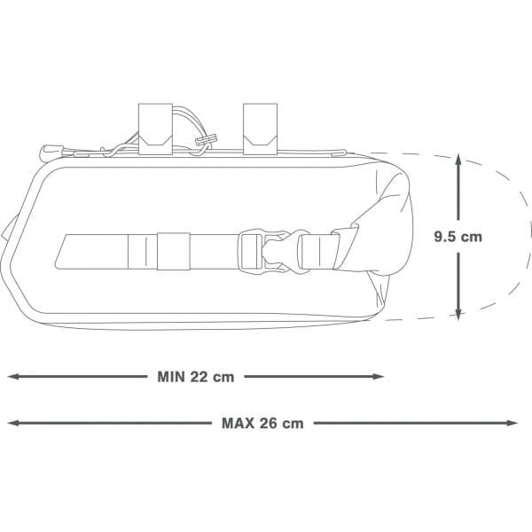 Apidura Racing Aerobar Pack 2.5 L - Lenkertasche - Bild 2