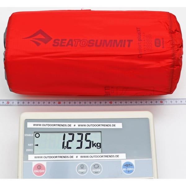 Sea to Summit Comfort Plus XT Insulated Mat Rectangular - Schlafmatte red - Bild 3