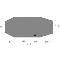 Tatonka Floor Sheet LT Polar 3 - Zeltunterlage