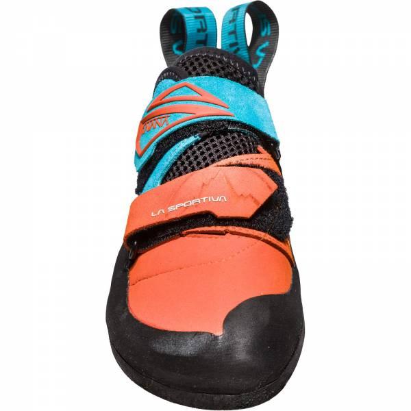 La Sportiva Katana - Kletterschuhe tangerine-tropic blue - Bild 5