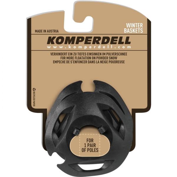 Komperdell Eisflanken Regular UL Winterteller - Stockteller schwarz - Bild 1