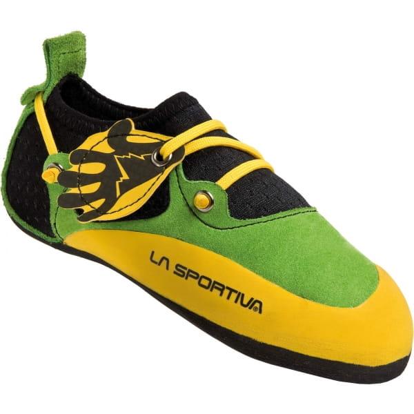 La Sportiva Stickit - Kinder-Kletterschuh green-yellow - Bild 1