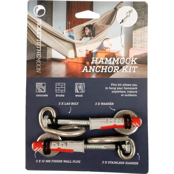 TICKET TO THE MOON Hammock Anchor Kit - Hängematten-Wandbefestigungs-Set - Bild 5